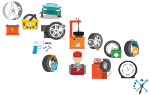 Services in icons